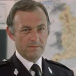 Gilbert was often seen in uniform, including in this episode of The Sweeeney.