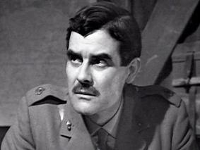 Terry as Major Barrington in The War Games