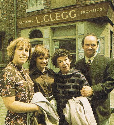 Coronation Street's Hopkins family.