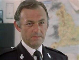 Gilbert was often seen in uniform, including in this episode of The Sweeeney.