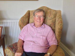 Rodney Bennett at home in Bath in 2013